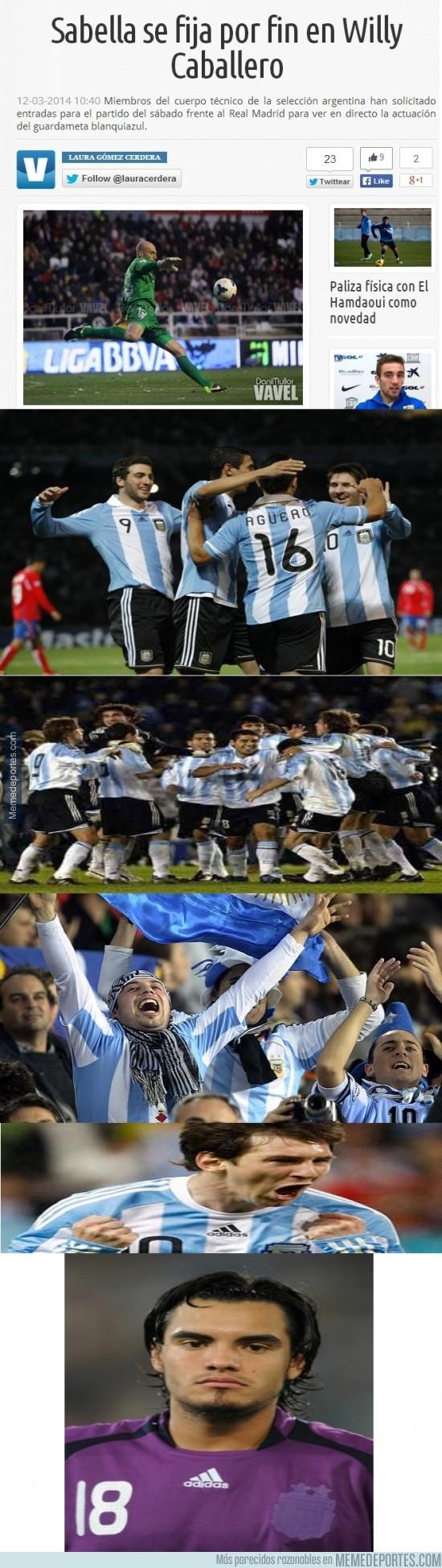 281431 - ¿Willy a la Selección Argentina?