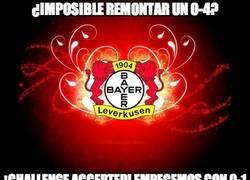 Enlace a El Leverkusen cree en la remontada