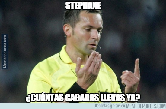281546 - Stephane, ¿cuántas cagadas llevas ya?