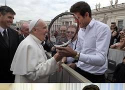 Enlace a Chaqueterismo extremo del del Papa