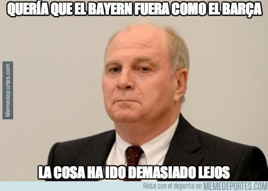 281906 - ¡Que no solo hay fraudes en España! Hoeness, presidente del Bayern, a la cárcel por fraude