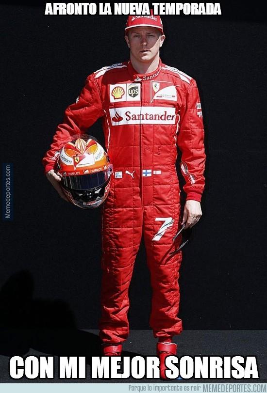 281983 - Kimi Räikkönen afronta la nueva temporada