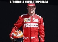 Enlace a Kimi Räikkönen afronta la nueva temporada
