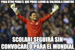 Enlace a Diego Alves, el parapenaltis
