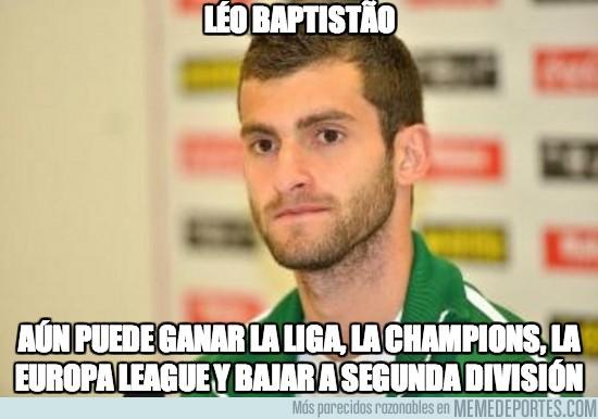 282237 - Léo Baptistão puede tener una temporada completa completa