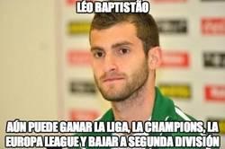 Enlace a Léo Baptistão puede tener una temporada completa completa