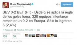 Enlace a Según los datos, el Sevilla necesita un partido épico para pasar