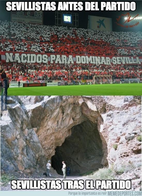 282271 - Sevillistas antes y después del partido