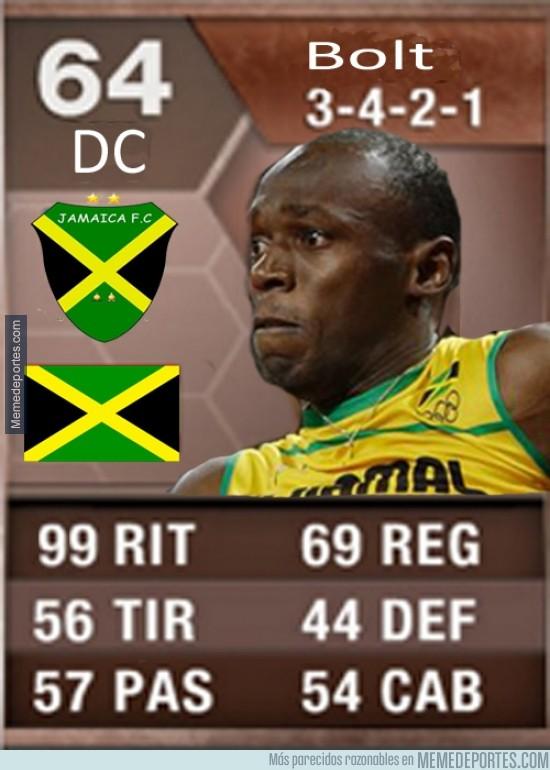 282473 - ¿Así sería la hoja técnica en el Fifa de Usain Bolt?