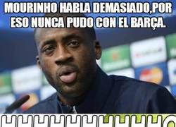 Enlace a Mourinho habla demasiado, por eso nunca pudo con el Barça