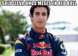 Enlace a Solo lleva unos meses en Red Bull
