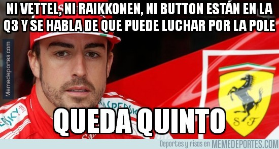 282638 - Ni Vettel, ni Raikkonen, ni Button están en la Q3 y se habla de que puede luchar por la pole