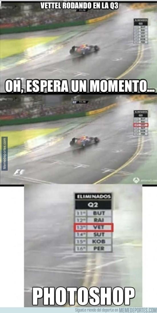 282641 - Vettel rodando en la Q3
