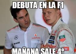 Enlace a Debuta en la F1