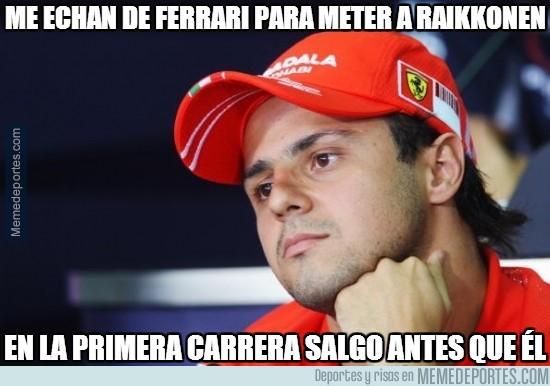 282690 - Me echan de Ferrari para meter a Raikkonen