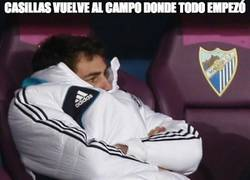 Enlace a Casillas vuelve al campo donde todo empezó