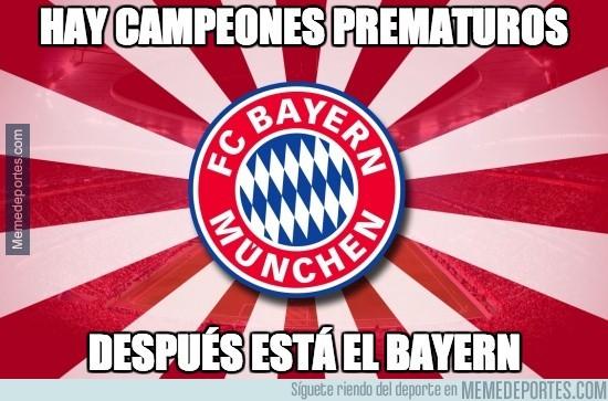 282891 - El Bayern será campeón la próxima jornada si gana y el Borussia pierde #ligaigualada