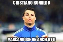 Enlace a Cristiano Ronaldo marcándose un Ancelotti