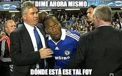 Enlace a Los fans del Chelsea ahora mismo con Foy