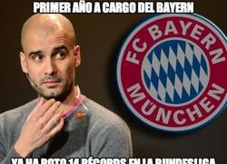 Enlace a Pep Guardiola y sus 14 récords en la Bundesliga