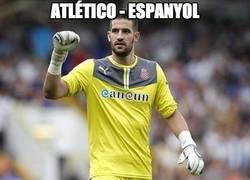 Enlace a Menudos dos porterazos en el Atlético - Espanyol