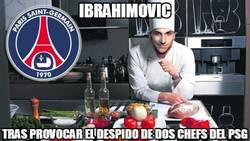 Enlace a Ibrahimovic tras provocar el despido de 2 chefs del PSG
