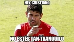 Enlace a Diego Costa sigue al acecho de Cristiano