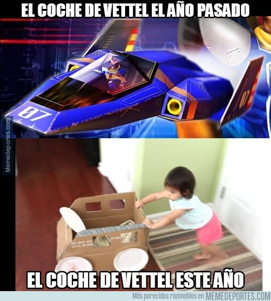 283200 - El coche de Vettel el año pasado y éste