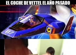 Enlace a El coche de Vettel el año pasado y éste