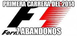 Enlace a Este 2014 pinta muy emocionante para la F1