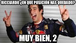 Enlace a Ricciardo ¿en qué posición has quedado?