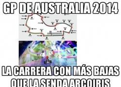Enlace a GP de Australia vs Mario Kart