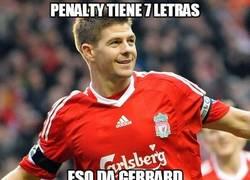 Enlace a Penalty tiene 7 letras