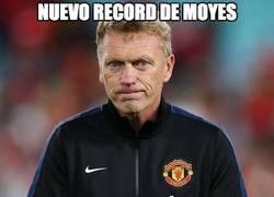 Enlace a Moyes sigue recogiendo récords con el United, ¡grande!