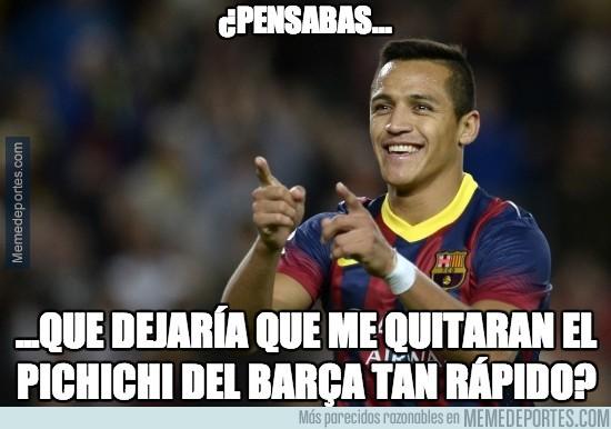 283628 - Alexis no quiere que Messi le quite el pichichi del Barça