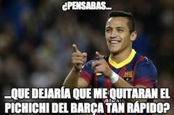 Enlace a Alexis no quiere que Messi le quite el pichichi del Barça