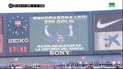 Enlace a Messi ya es el máximo goleador de la historia del Barça. Con 26 años