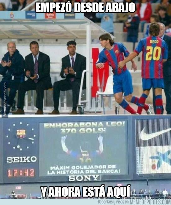 283766 - Messi empezó desde abajo