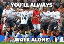 Enlace a Van Persie, you'll always walk alone