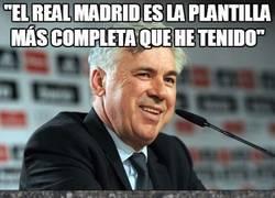 Enlace a Ancelotti siempre ha tenido a los mejores