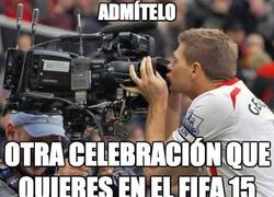 Enlace a La celebración de Gerrard