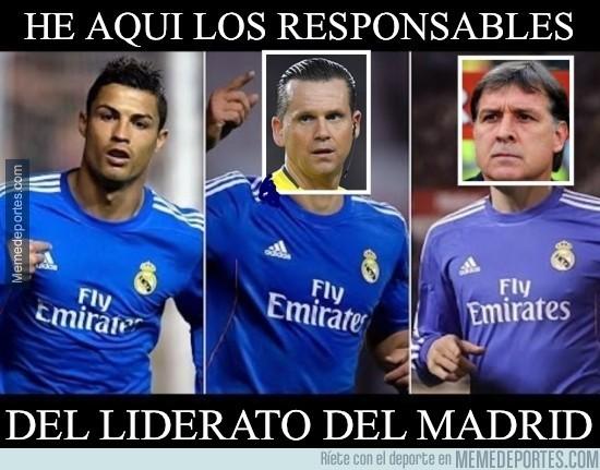 284550 - He aquí los responsables del liderato del Madrid