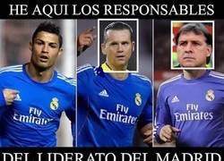 Enlace a He aquí los responsables del liderato del Madrid