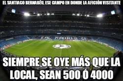 Enlace a El Santiago Bernabéu, ese campo en donde la afición visitante siempre se oye más