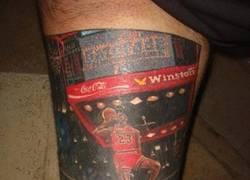 Enlace a Hay tatuajes currados, luego está éste de Michael Jordan