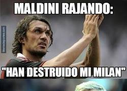 Enlace a Maldini, Ferguson se te une