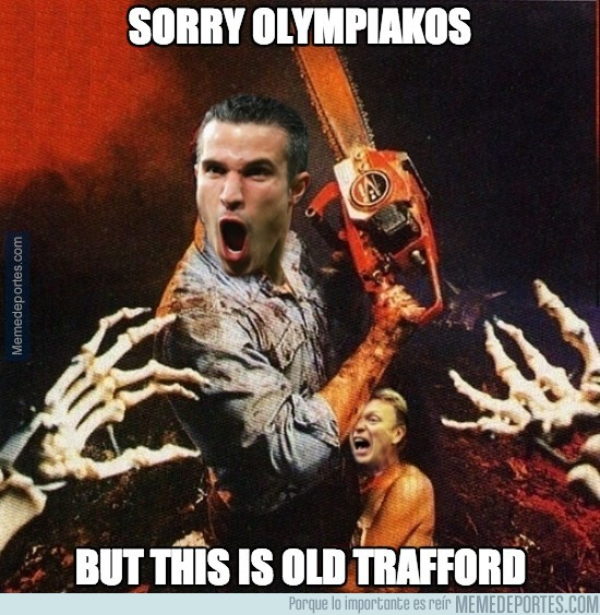 285213 - Sorry Olympiakos, but this is Old Trafford
