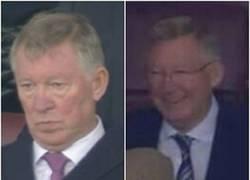 Enlace a Imagen izquierda: Sir Alex vs Liverpool. Imagen derecha: Sir Alex vs Olympiakos.Así es el fútbol.