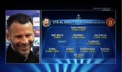 Enlace a La edad de los jugadores del Manchester United el día que Giggs debutó en la UCL