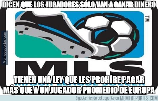 285465 - Dicen que los jugadores sólo van a ganar dinero a la MLS